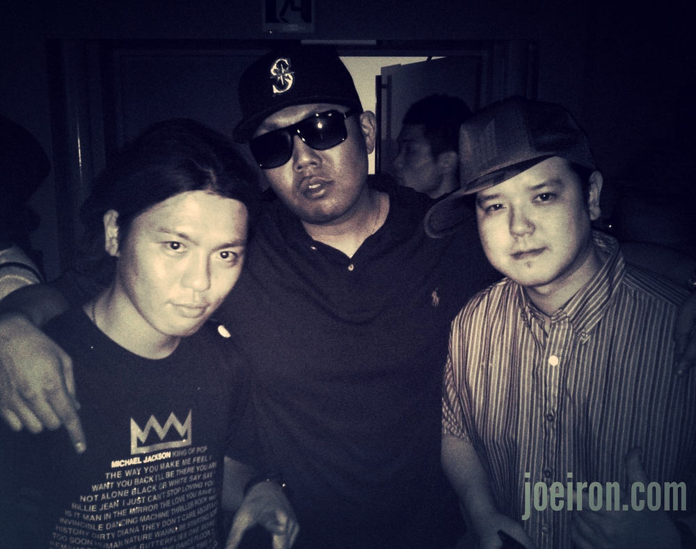 DJ Souljah, JOE IRON & Wise (Teriyaki Boys)