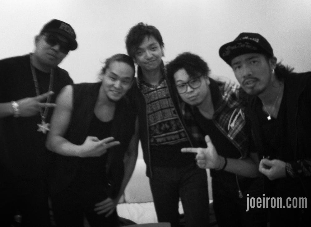 JOE IRON, Daichi Miura & Back Dancers