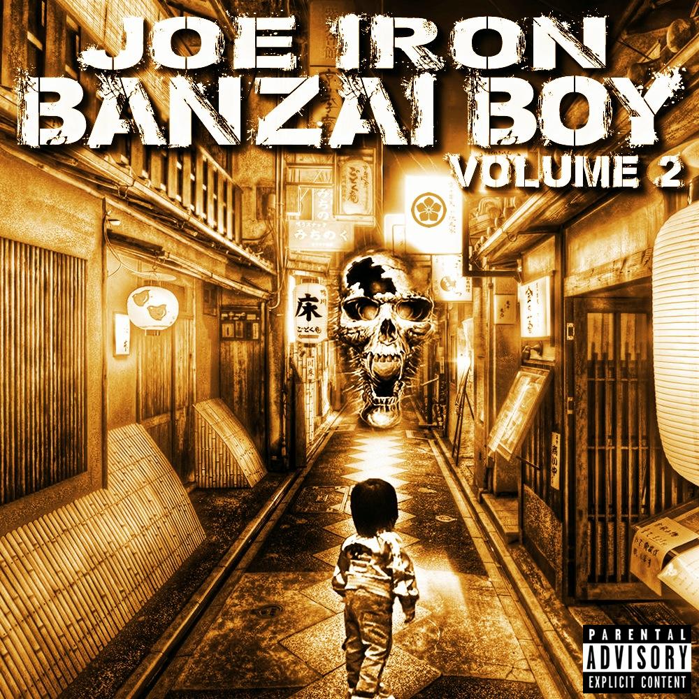 JOEIRON BANZAIBOY2 Cover