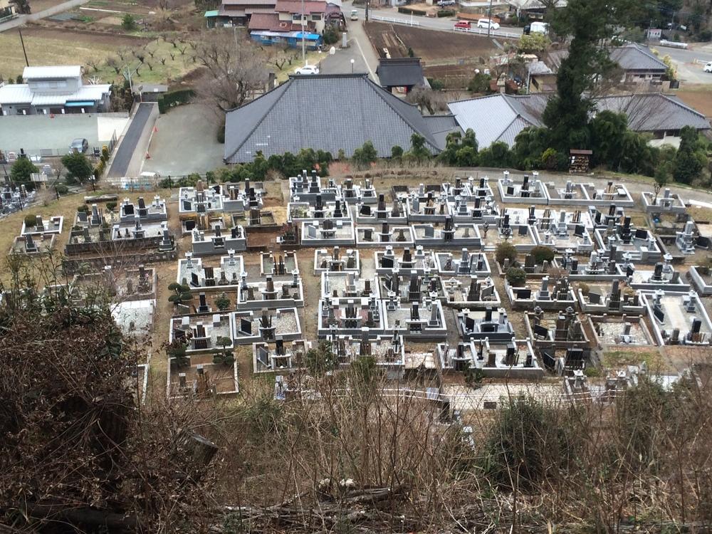 Japanese Graveyard