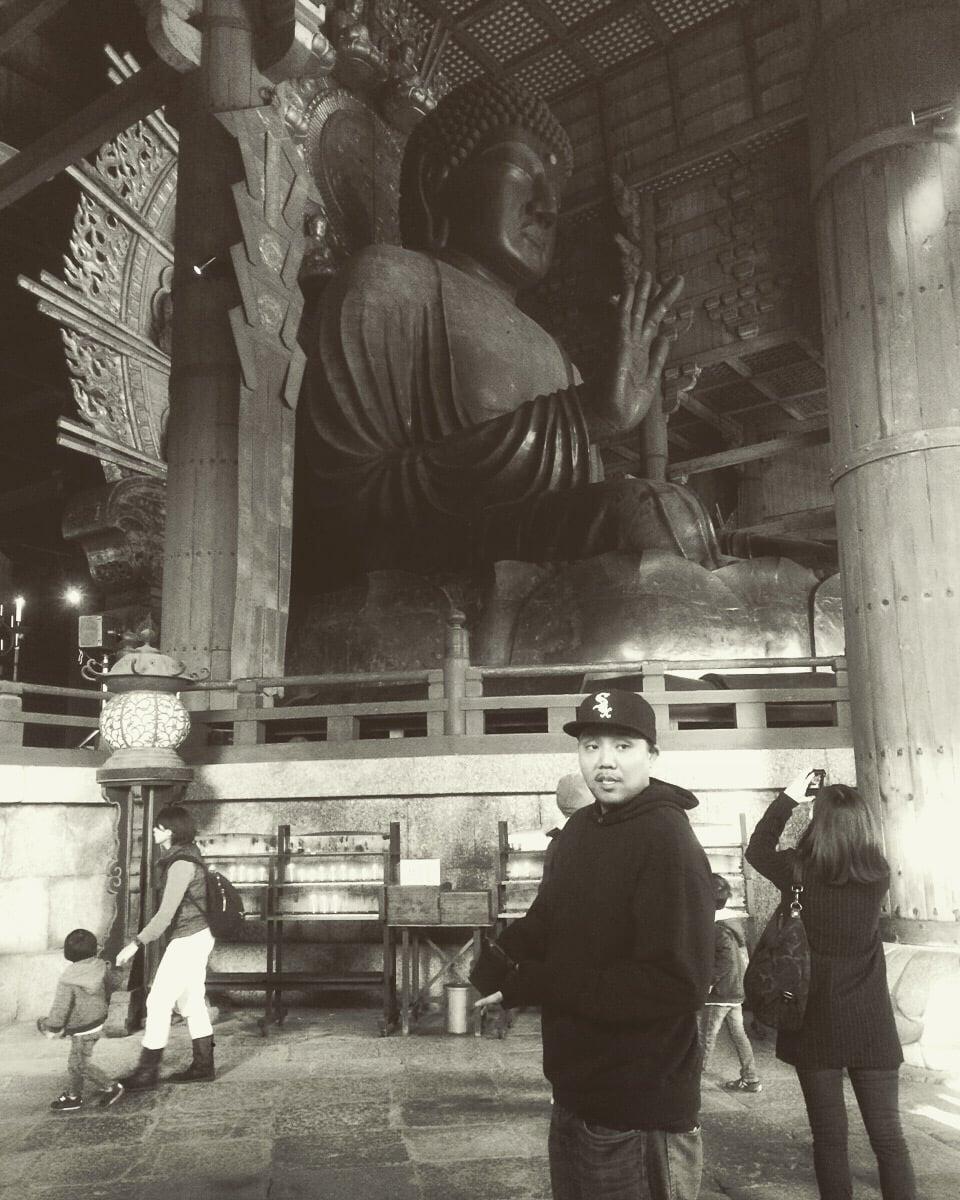 JOE IRON on tour in Nara, Japan