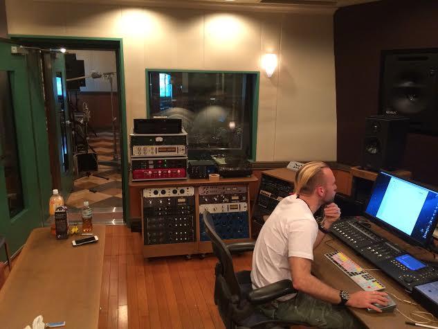 Shen (DEF TECH) in the studio