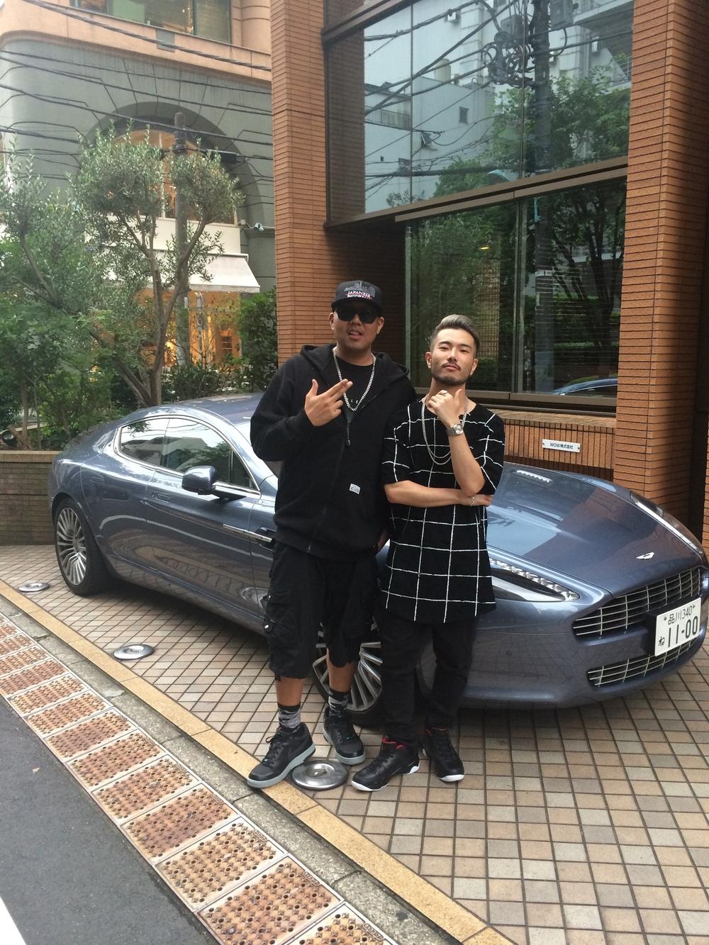 Japanese Music Producer JOE IRON and White Jam member GASHIMA