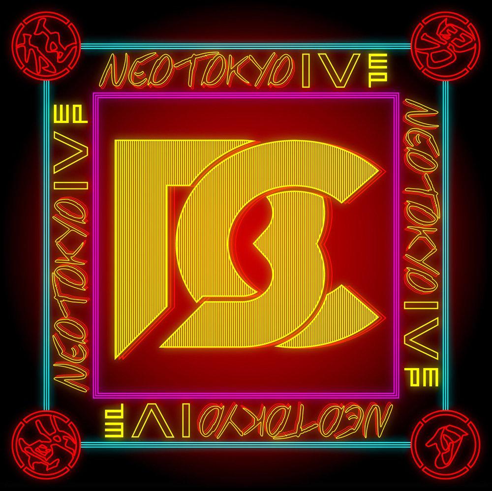 "CRAZYBOY ""NEO TOKYO IV"" Album Cover"