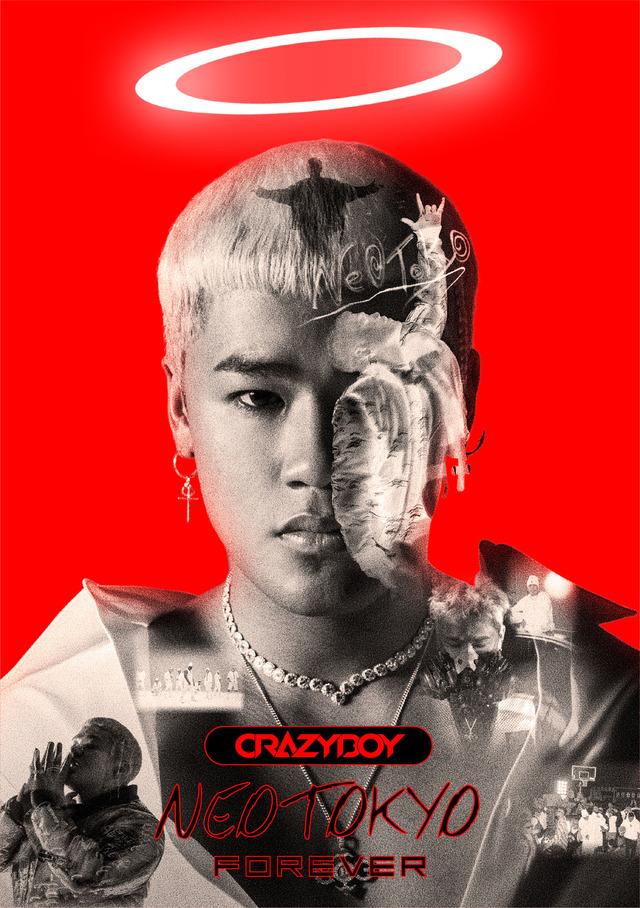 "CRAZYBOY ""NEOTOKYO FOREVER"" ALBUM COVER"