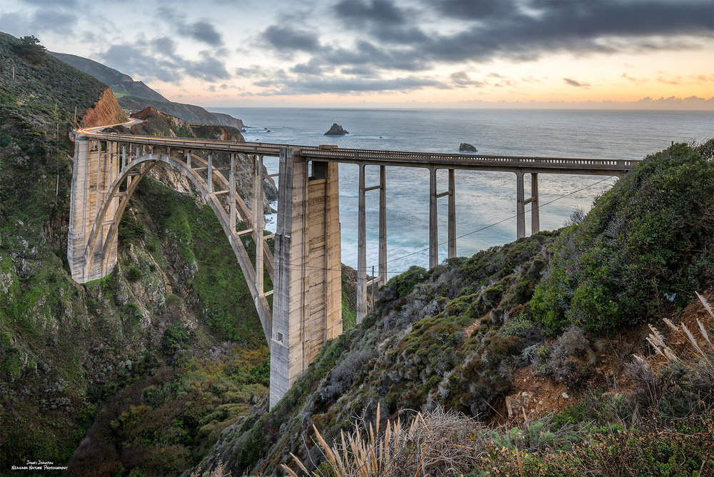 Bixby Creek Bridge Sunset