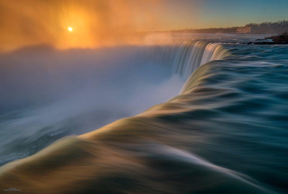 Soft Niagara Sunrise