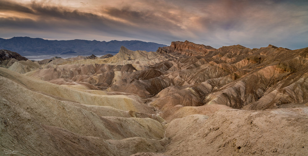 Zabriskie Point Evening