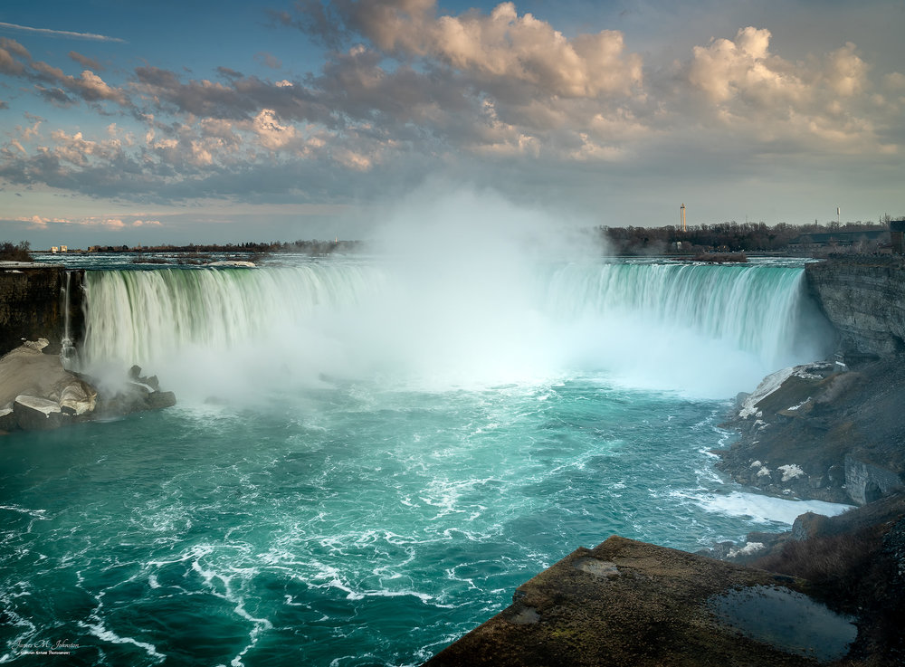 Horseshoe Falls Evening