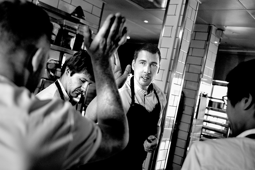 Torsten Vildgaard, kock. Köpenhamn, Danmark