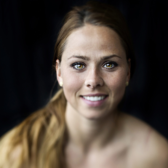 Sara Björk Gunnarsdottir, Fotbollspelare. Malmö.