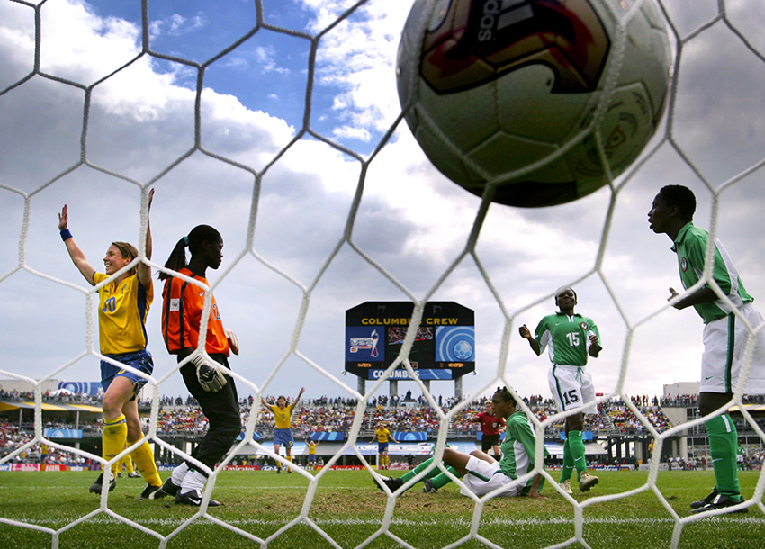 VM i fotboll. Columbus, USA