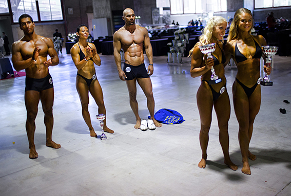 VM i bodybuilding. Madrid, Spanien