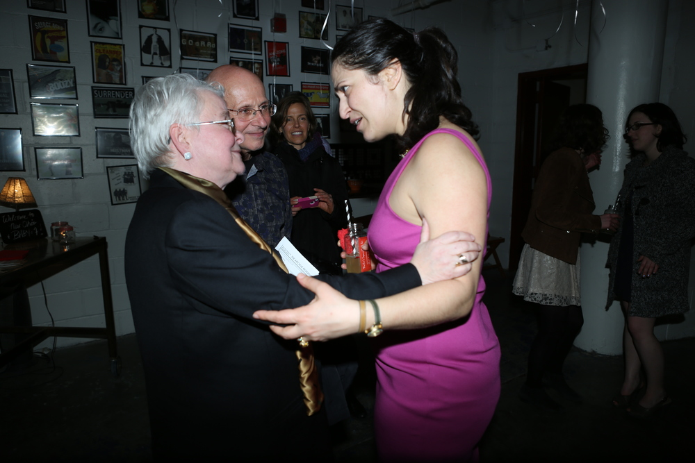 Opning Night with Paula Vogel and David Savran (Photo: Steven Schreiber)