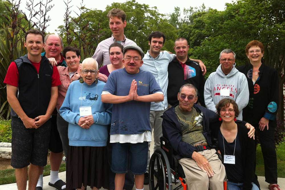 The L'Arche International Inclusion Initiative, including two members from Chicago.