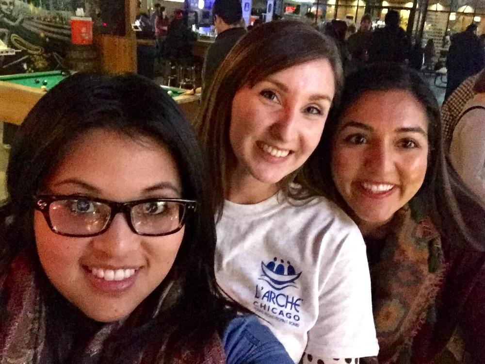 Selfies at Game Night!