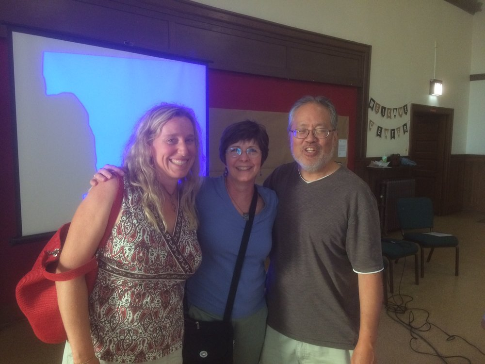 LIsa, Mary Susan, and Spencer--foundational members of L'Arche Chicago