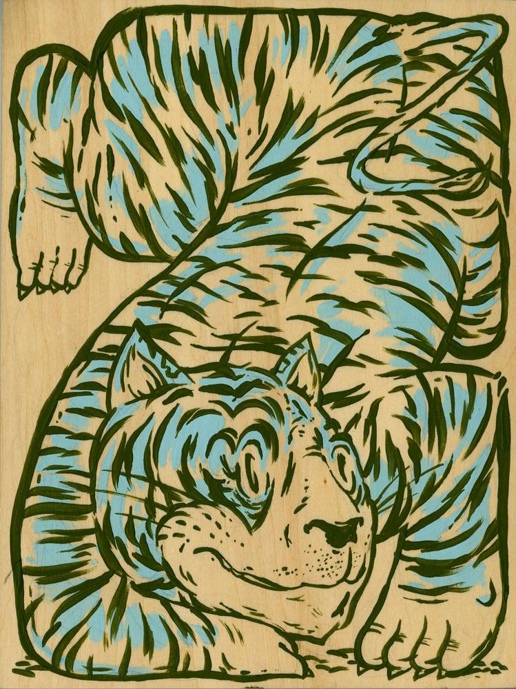 Boxed Tiger