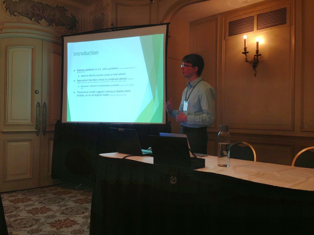 Me presenting at the MPA conference, 2015