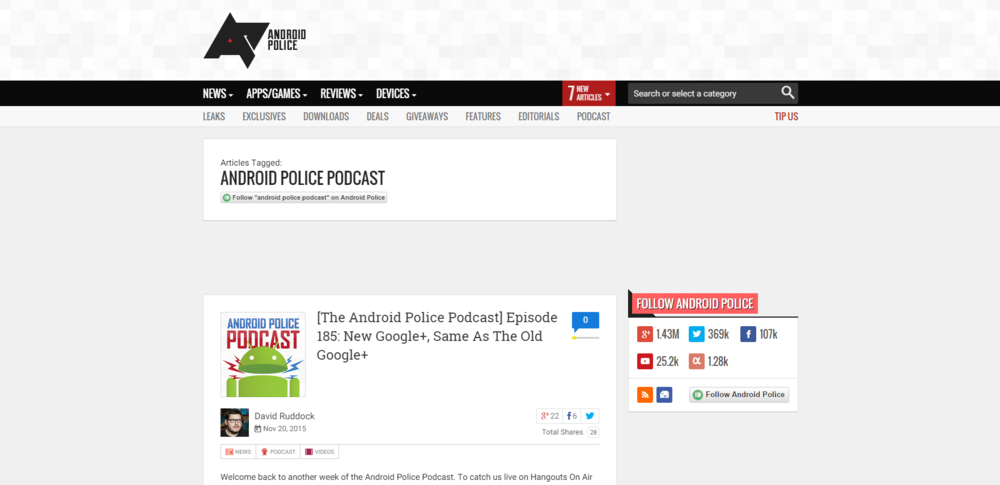 Source: http://www.androidpolice.com/tags/android-police-podcast/