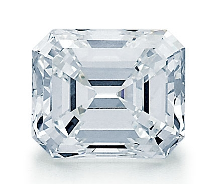 Loose Emerald Cut Diamond