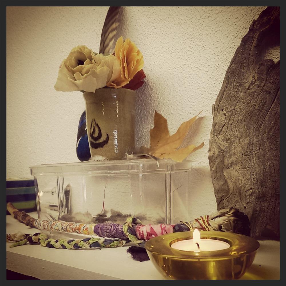 My studio altar.
