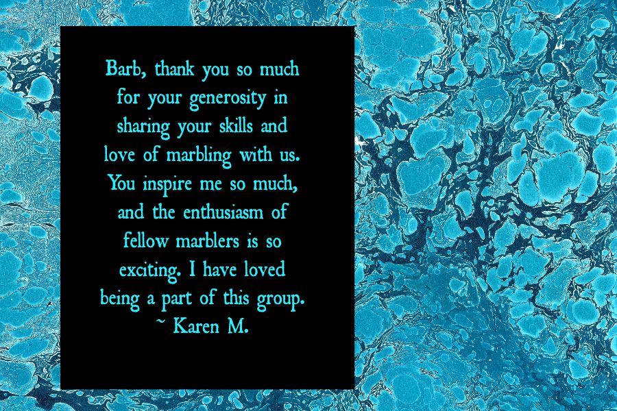 Thank You Barb Karen M COW Praise.jpg