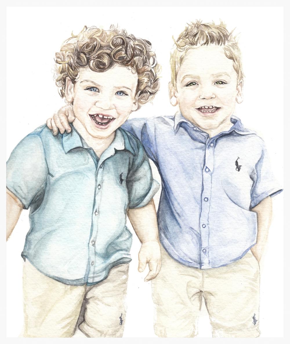 Lucas and Liam