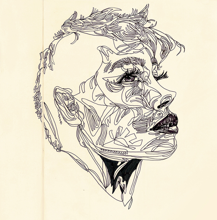 50dpi_Website_Woman_Side_Profile_Drawing_Moleskine.jpg