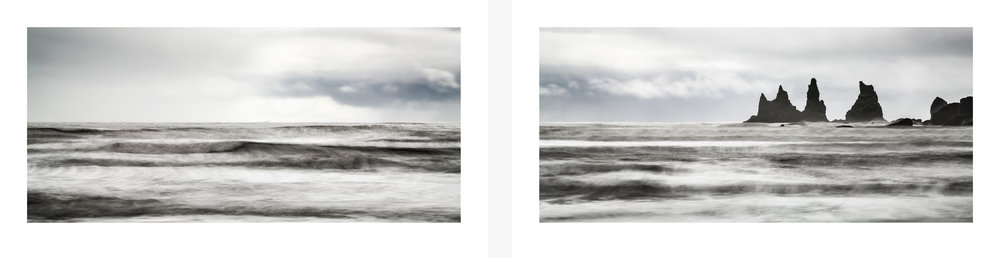 THE OCEAN AND THE TROLLS - DIPTYCH