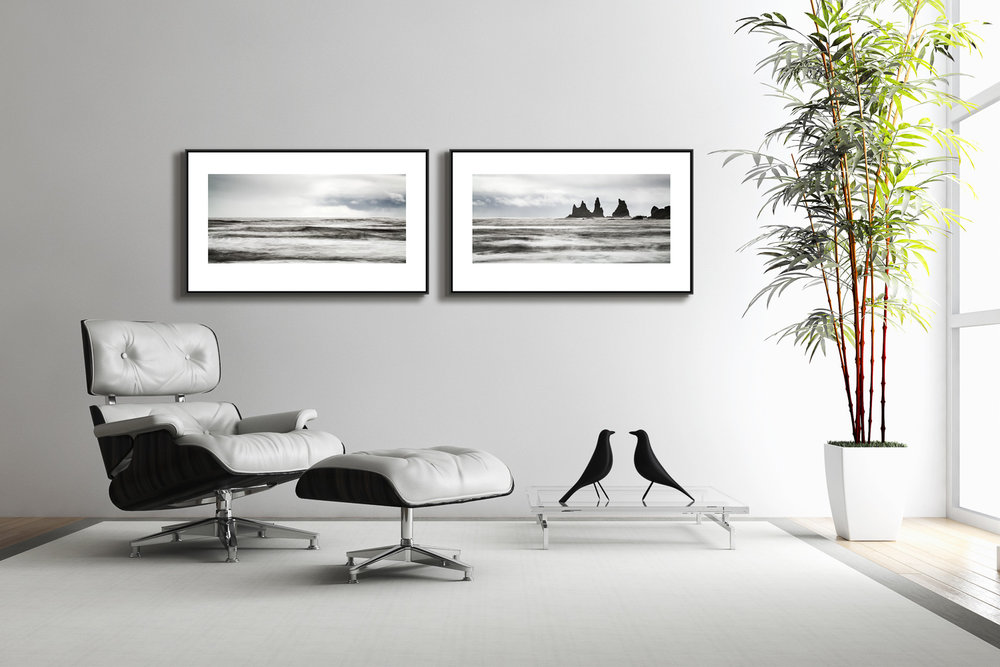 THE ART OF STILLNESS - THE OCEAN AND THE TROLLS - DIPTYCH