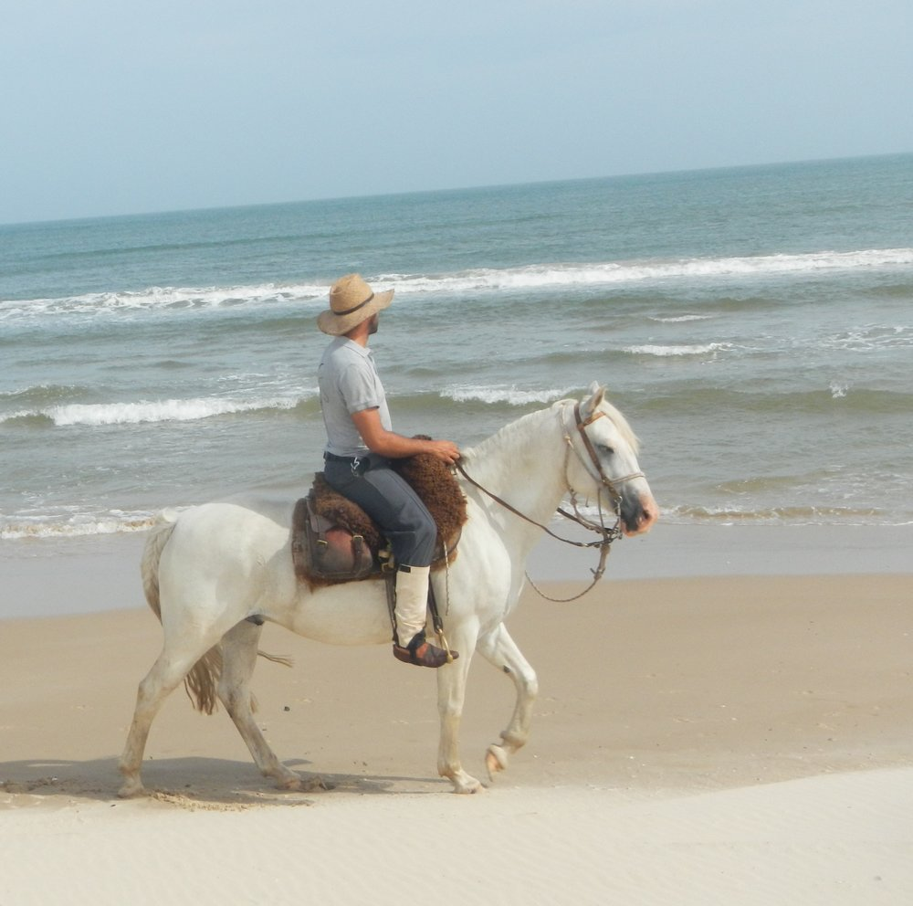 ride andes uruguay horse trek beach ride