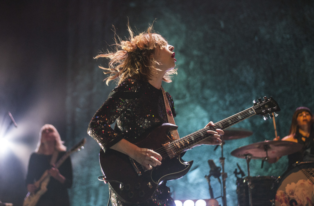 Sleater-Kinney at Kings Theatre