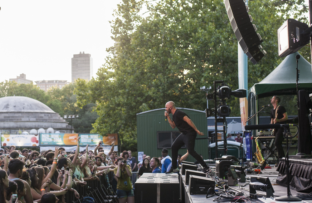 X Ambassadors at Central Park SummerStage