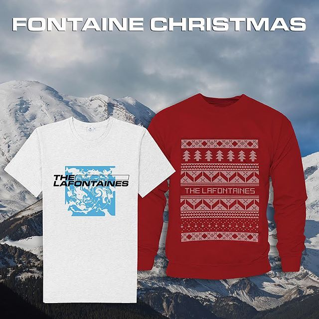 'Tis the season to be jolly,  Grab a Fontaine jumper and add to yer trolly... Order now and receive before Christmas x  https://thelafontaines.bigcartel.com