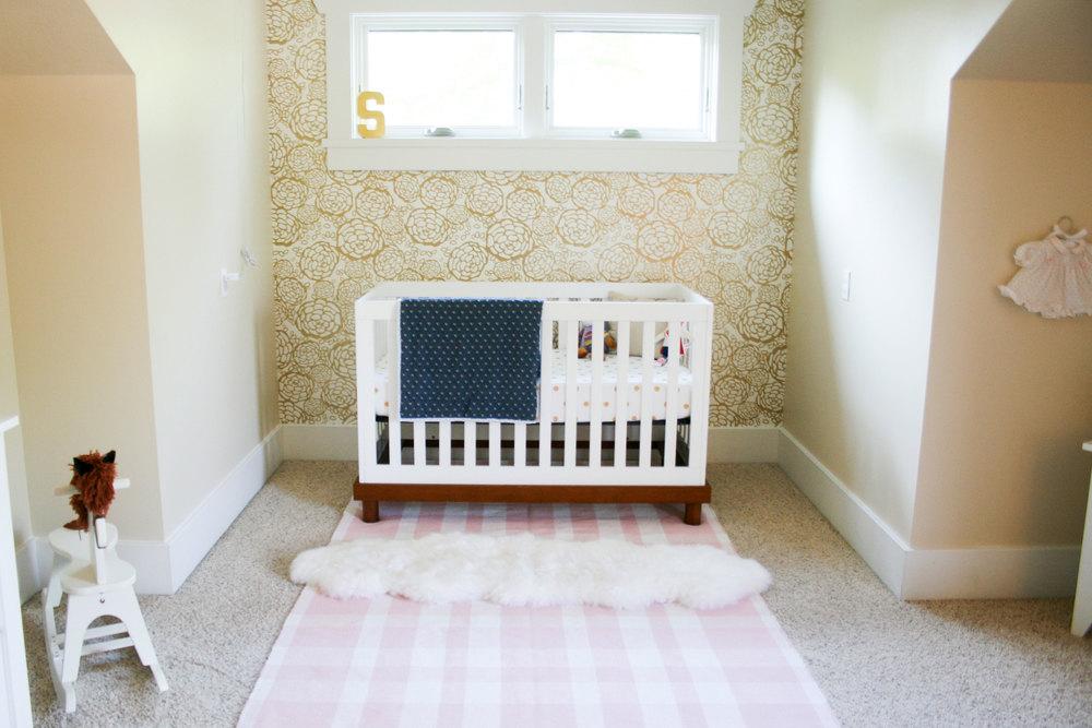 Pink & Gold Nursery