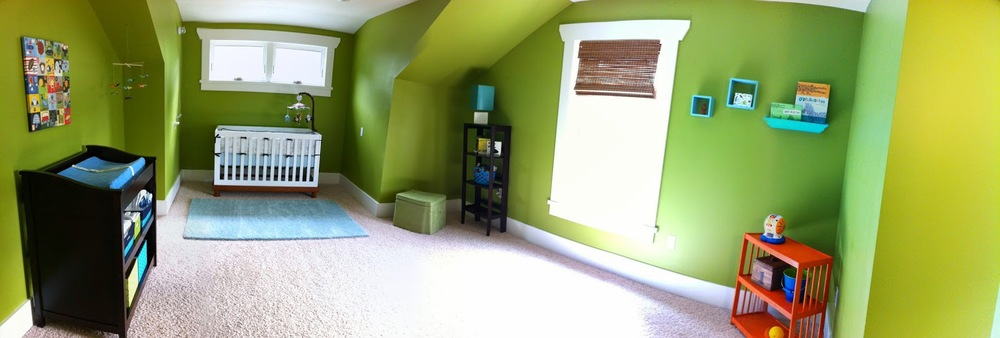 Sylvie's room when it was Carter's nursery.
