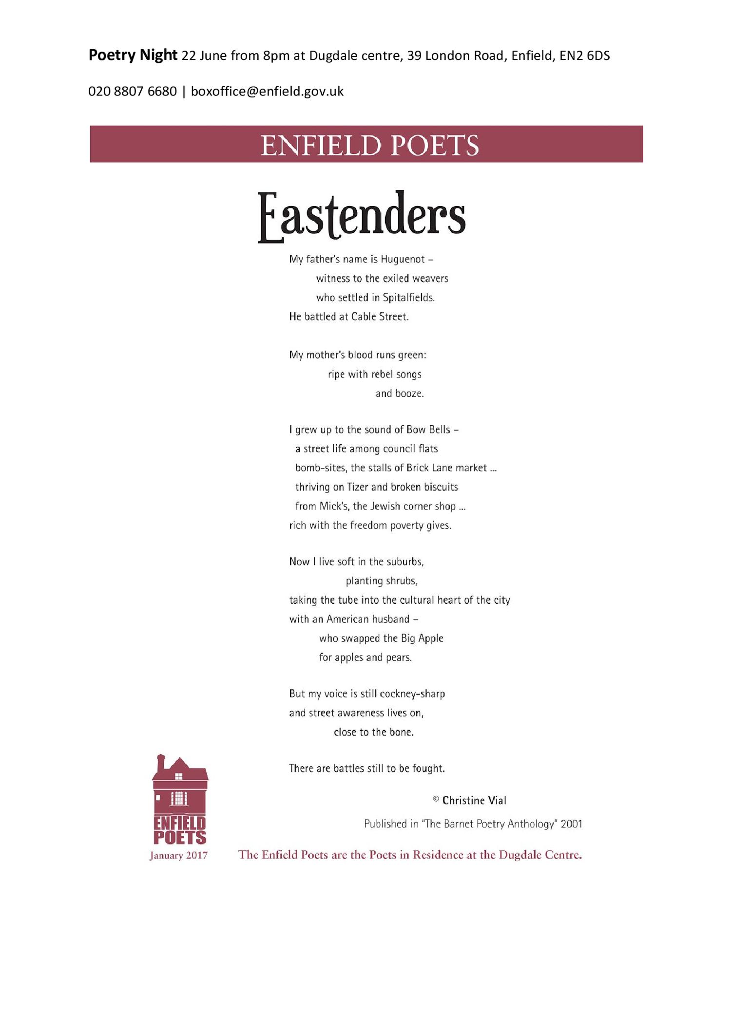 Poetry — EN Two
