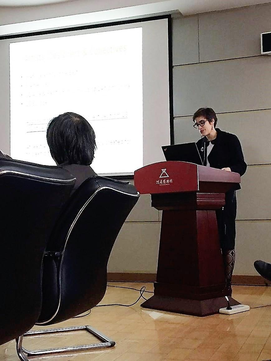Henan Museum, Artist Forum, Opening address.