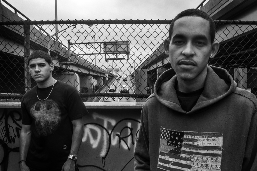 J and Will. Hunts Point, the Bronx, NYC. September 2012.