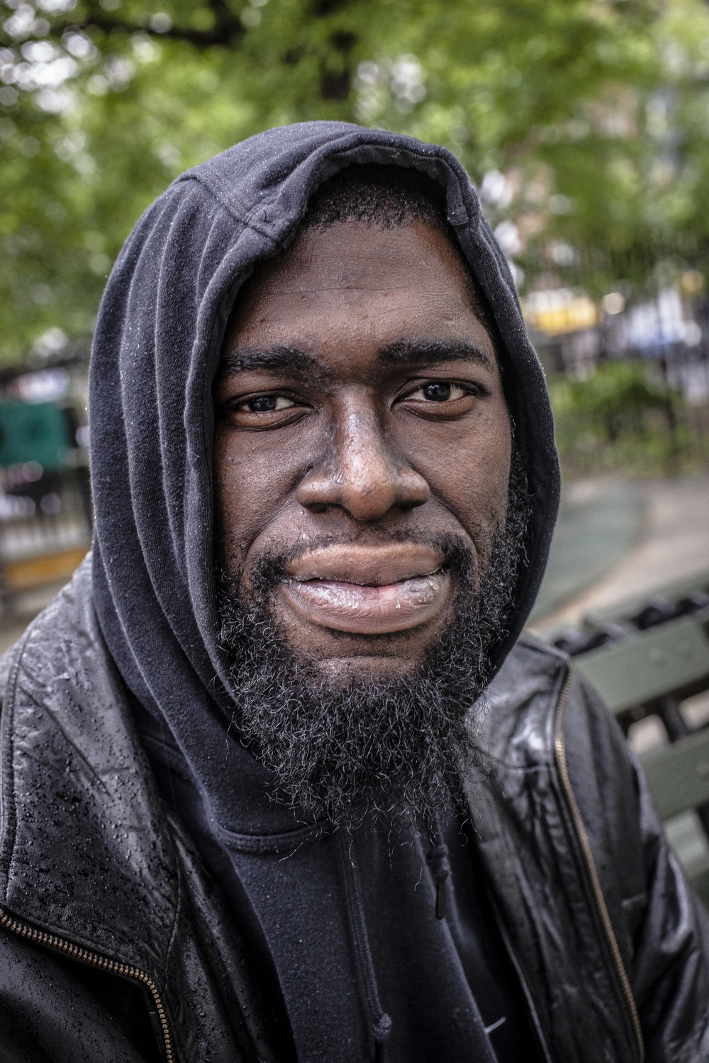 Richard Lewis is a director of programs at NYHRE photographed in Tompkins Square Park, where he was first exposed to harm reduction as a teenager. NYC. 2017.