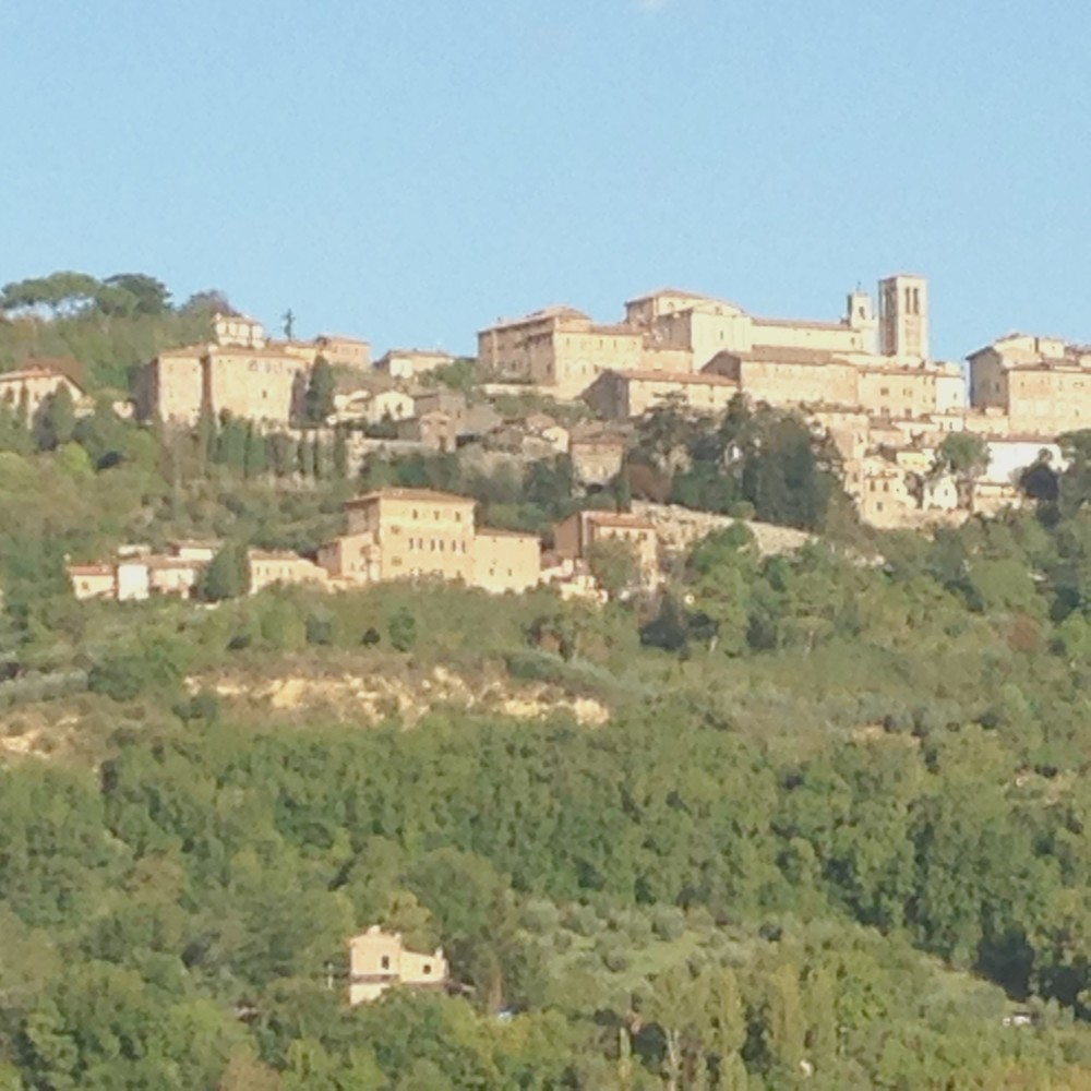 Villa Nobile, situated below the town of Montepulciano.
