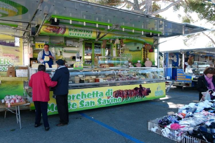 Montepulciano Market Pork Sandwiches
