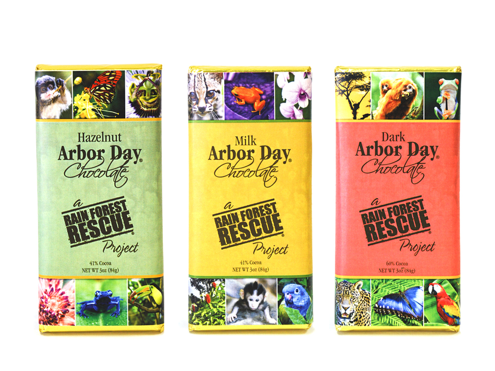 Arbor Day Chocolate
