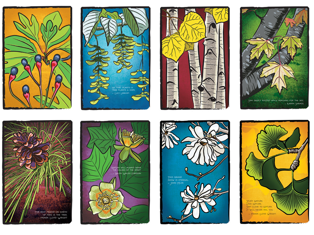 Arts & Crafts Give-A-Tree® Cards