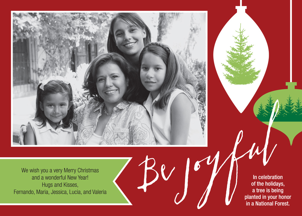 Christmas Photo Give-A-Tree® Card