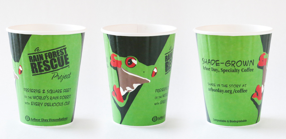 Rain Forest Rescue Coffee Cups