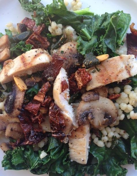 Spinach, Pumkin, & Chicken Sausage Salad.jpg