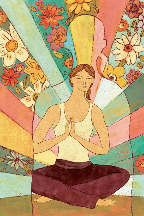 Working From the Inside Out, Yoga Journal Magazine