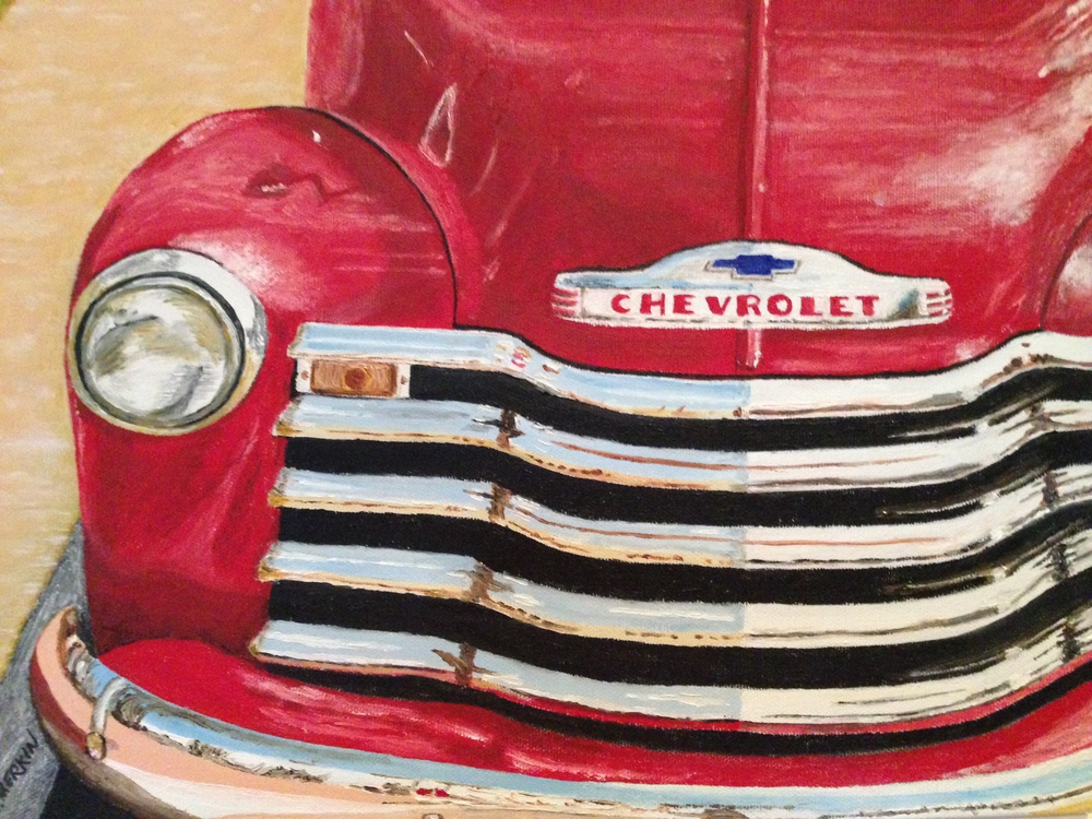 Red Chevy Truck